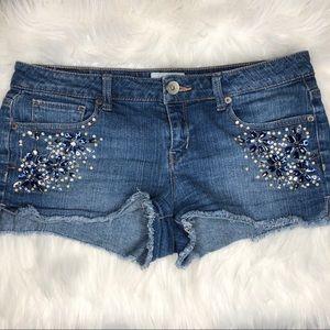 Aeropostale Bedazzled Shorts